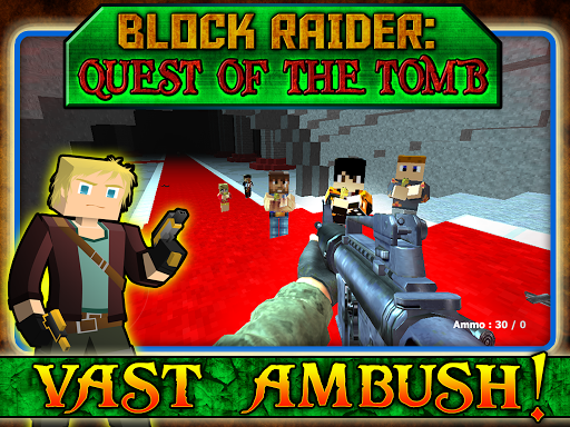 【免費模擬App】Block Raider Quest On The Tomb-APP點子
