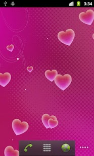 Hearts Pro Live Wallpaper - screenshot thumbnail