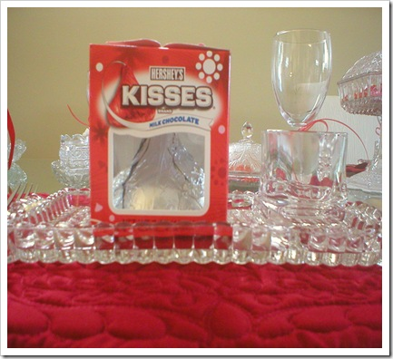 Valentines Day Kiss favors