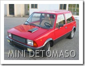 INNOCENTI MINI DE TOMASO 1982