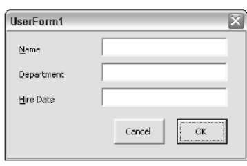 Using Dialog Box Controls in Excel VBA