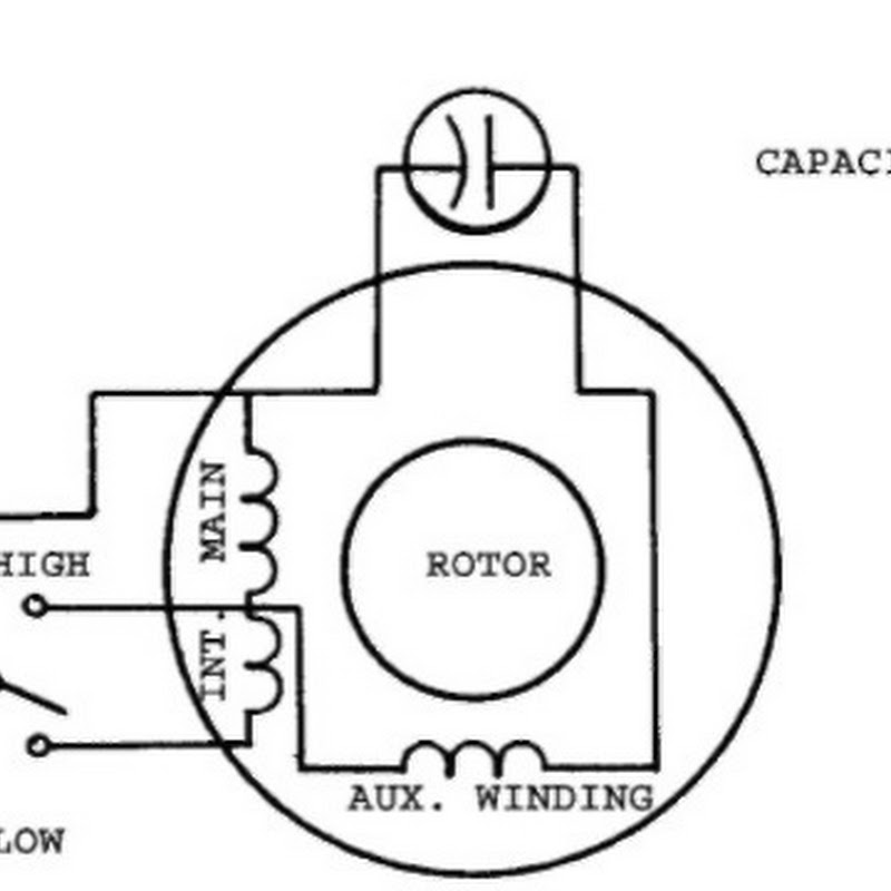 3 Phase To Single Phase Motor Connection