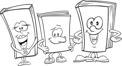 Dibujos Infantiles Escolares Para Colorear: Pinto Dibujos: Libros Para Colorear