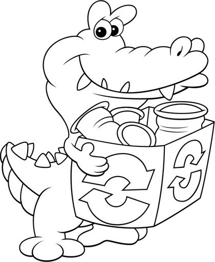 Traductor recycle free coloring pages coloring pages for Recycling coloring pages