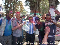 enjoy holi festival of hindu