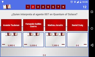 Screenshot of Juego del millón