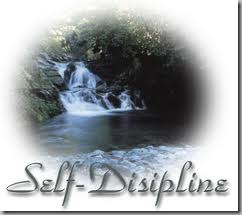 self-discipline - waterfall