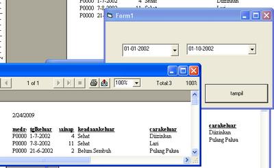 Laporan Program Visual Basic