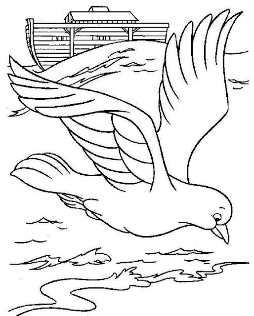 Dibujos Arca De Noe Para Colorear