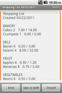 Shopping List Maker screenshot 5