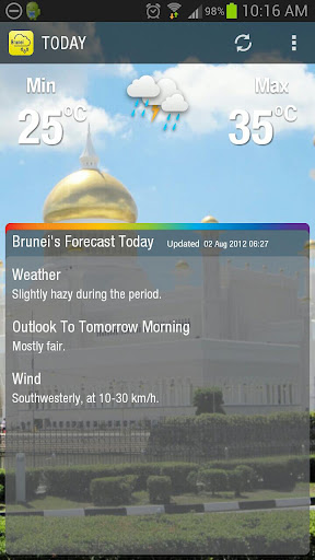 10 best weather apps and widgets for Android - AndroidPIT