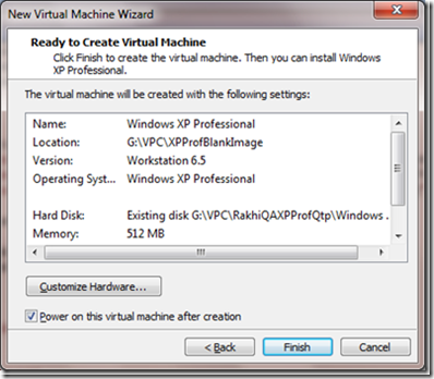 How To Create Virtual Machine Using Existing vmdk file in
