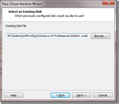 How To Create Virtual Machine Using Existing vmdk file in VMWare