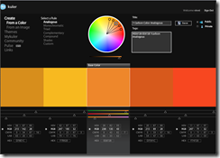 Analogous Color Theme