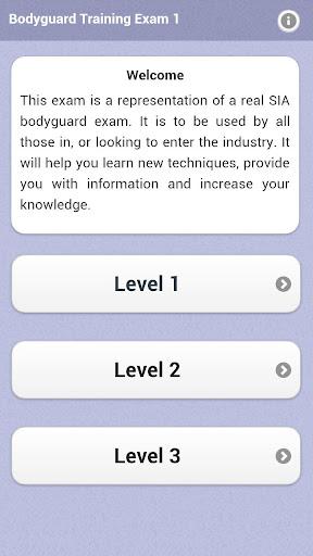 Bodyguard Training Exam 1