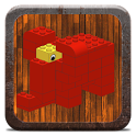 Brick animal examples icon
