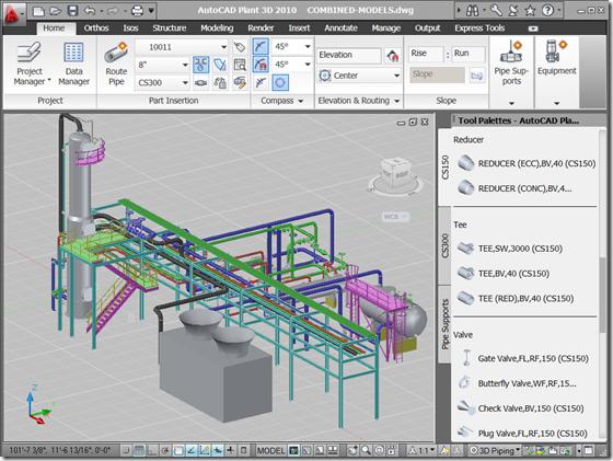 JTB World Blog: AutoCAD Plant 3D 2010 now available