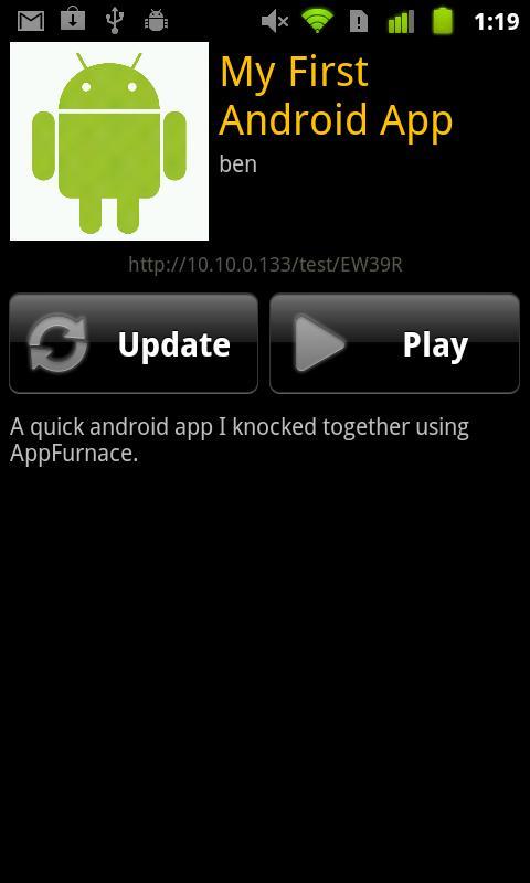 AppFurnace Player- screenshot