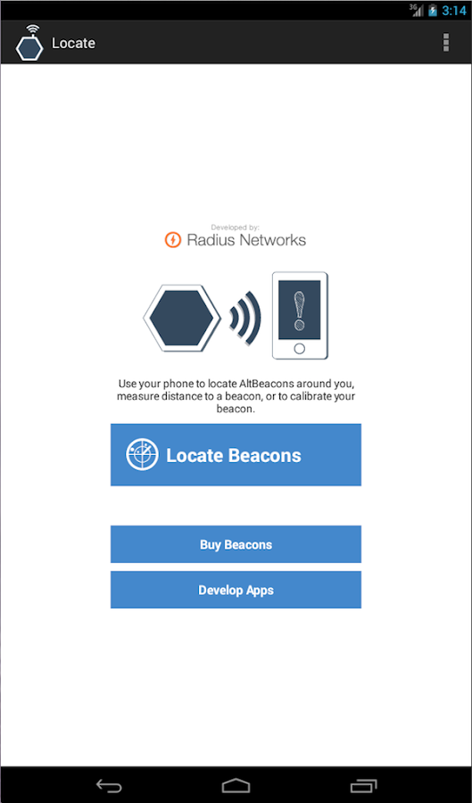 Locate Beacon- screenshot