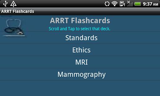 ARRT Flashcards – Apps bei Google Play