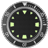Gray Rolex Clock Widget
