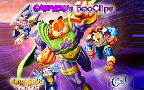 Garfield's Pet Force BooClips