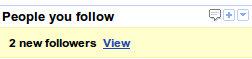 Followers en Google Reader