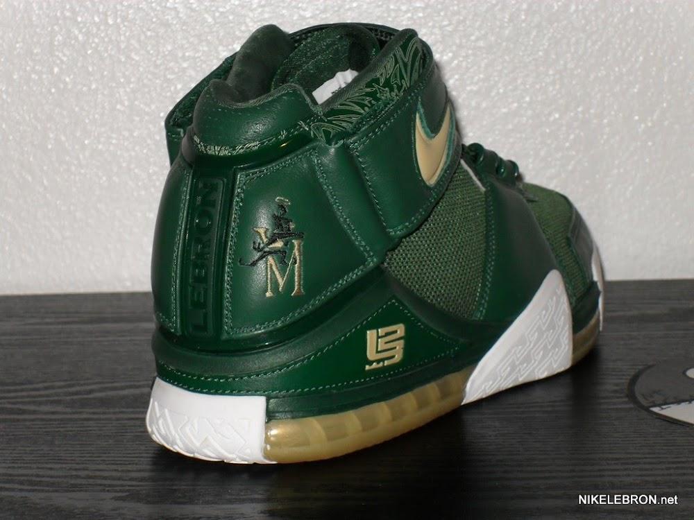 cdab85e6 Nike Zoom LeBron II SVSM Away PE Sample – Rare Alternate | NIKE ...