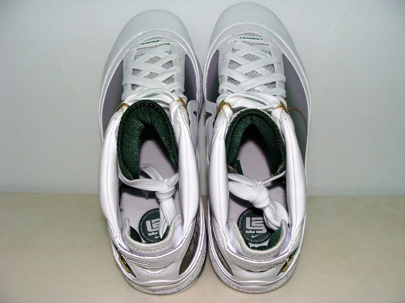 the latest 260d2 44d98 ... Nike Air Max LeBron VII 7 SVSM Home Player Exclusive Gallery ...