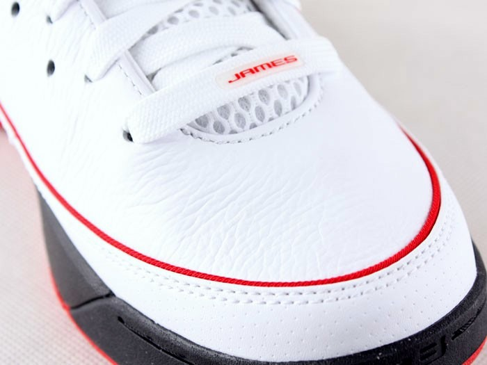 the best attitude cc8eb 5d422 ... Nike LeBron VII Low WhiteBlackRed General Release Version ...