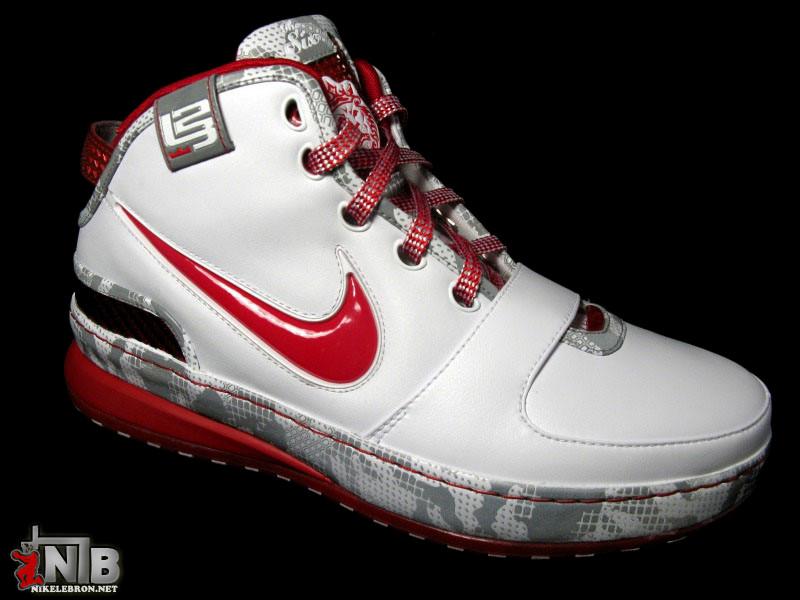 c7958587c729c8 ... Ohio State Buckeyes Nike Zoom LeBron VI aka Home 8220PE8221 Showcase ...