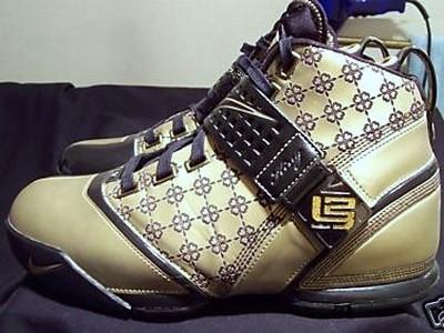 online retailer 7798f e0d48 Unreleased Friends amp Family Promo Sample 8211 Nike Zoom LeBron V ..