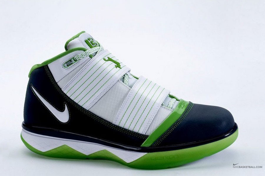 8f63e64b755ac7 The Use of the Word DUNKMAN. Nike Zoom Soldier III Mean Green ...