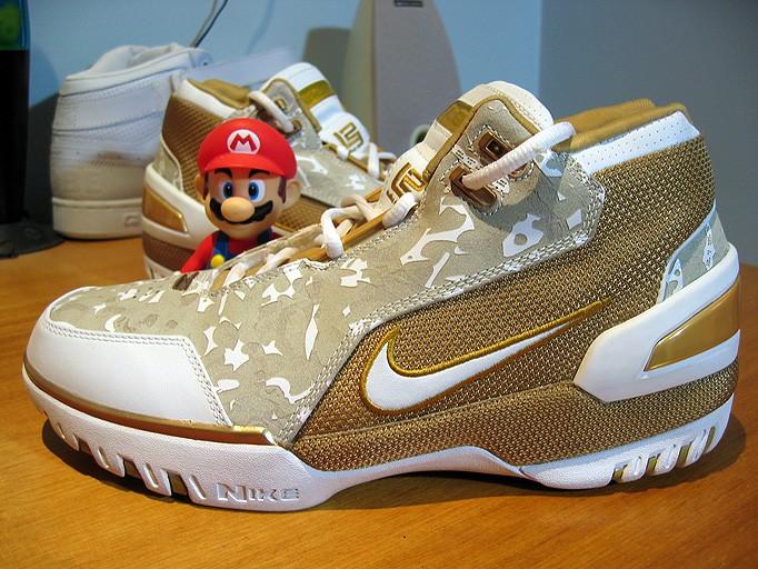 "Scrapped Retro Nike Air Zoom Generation ""Camo"" Edition ..."