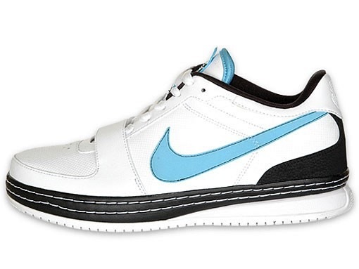 19168d40121 ... White Black-Baltic Blue. Nike Zoom LeBron VI Low WhiteBlackBaltic Blue  Available at Finishline ...