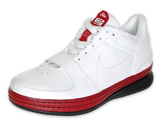 6f6582c55fde5 Nike Zoom LeBron VI Low WhiteVarsity RedBlack Available at Finishline ...