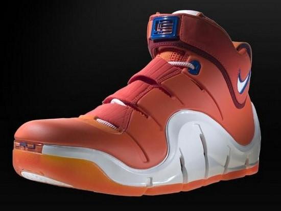 7ced7c6523e3 Throwback Thursday Nike Zoom LeBron IV Orange Sample ...