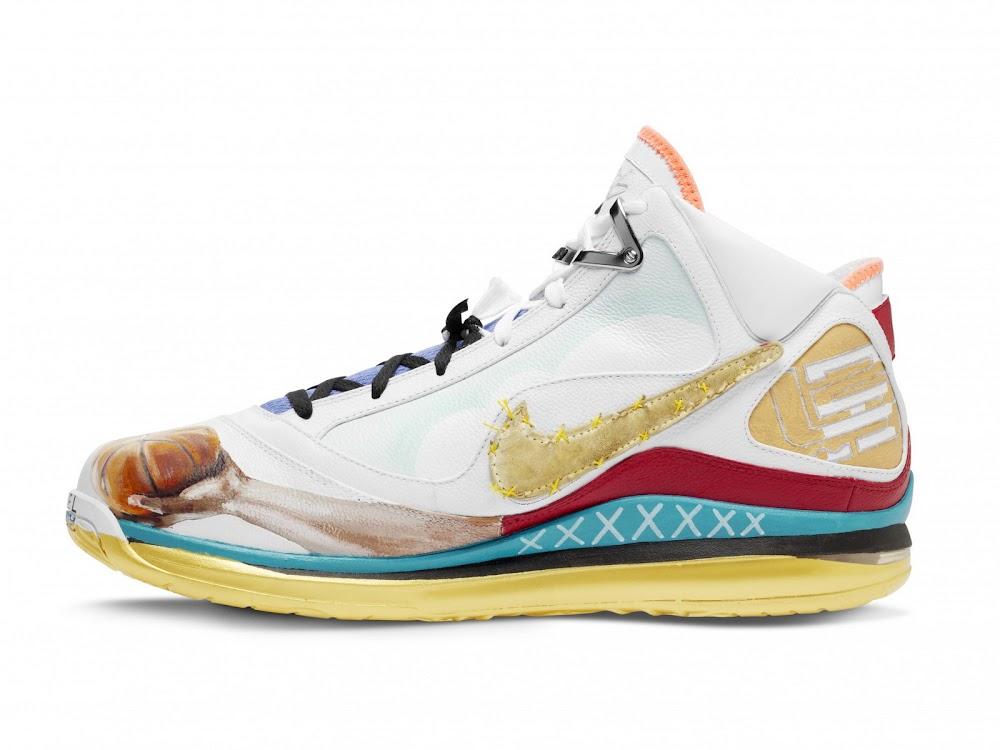 ... Nike Max LeBron VII Chicago Artist Series Collaboration ... bdb4500874