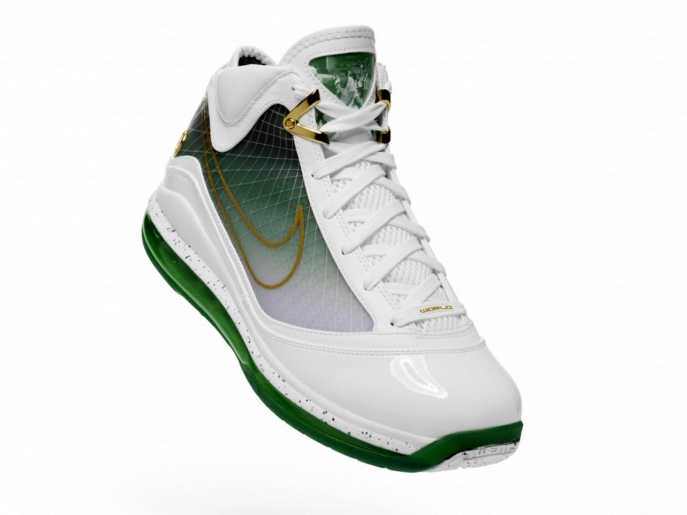 740ea7e62d3 Beijing Limited Edition Air Max LeBron VII 8220Tradition8221 Official Pics  ...
