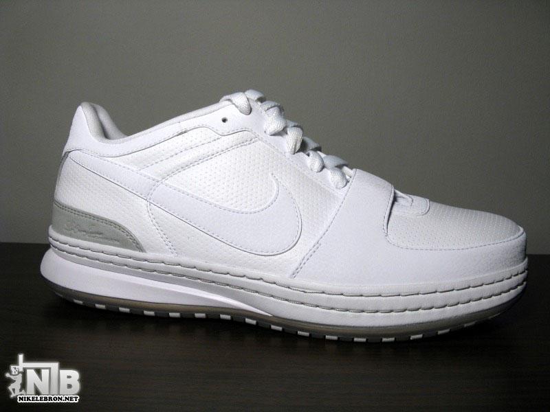 fb080e072263 Nike Zoom LeBron VI Low White White-Medium Grey Showcase