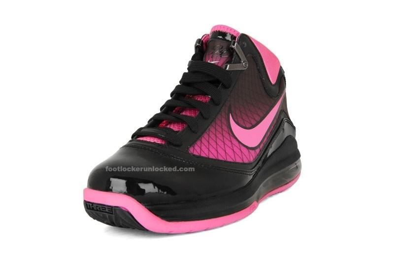 21b04133c59b ... shop nike air max lebron vii gs black pink fire kids only ffd78 343e8