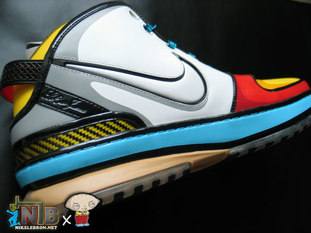 9c79f671413 ... NLBnet Exclusive Zoom LeBron VI 8220Stewie8221 from the Family Guy ...