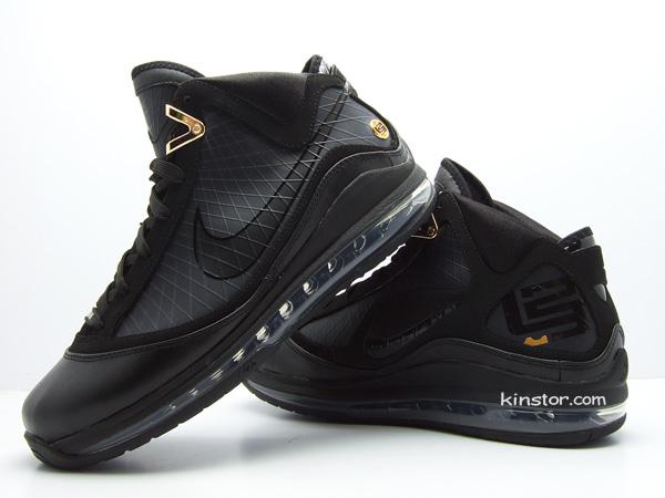 newest 4df36 656a0 Upcoming Black Nike Max LeBron VII aka 8220Phantom8221 New Photos ...