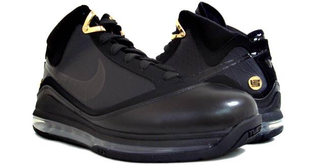 7fa71e0c71734c Releasing Now Nike Air Max LeBron VII BlackGold aka 8220Phantom8221 ...