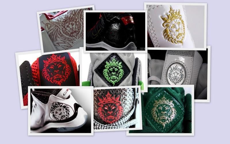 choose lebron's new nike logo. dunkman? lionhead? lbj6? other