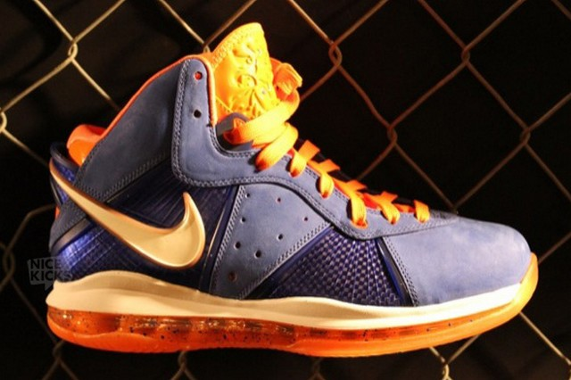 ... Nike LeBron 8 New York x 2 Charcoal White amp Blue and More ... a7ede5197