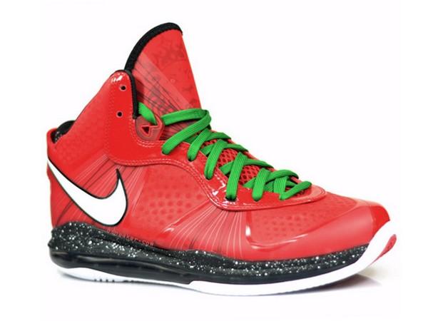 807b6f55ec3a6 A Fresh Look at Nike Air Max LeBron 8 V 2 Christmas Edition
