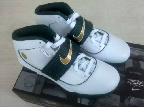 timeless design a3c30 93578 First Look  Nike Zoom Soldier IV SVSM High School Home PE   NIKE LEBRON -  LeBron James Shoes