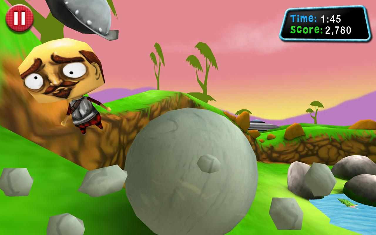 Roll: Boulder Smash!- screenshot