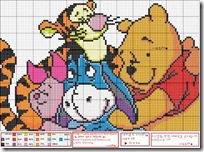 Winnie the pooh punto de cruz
